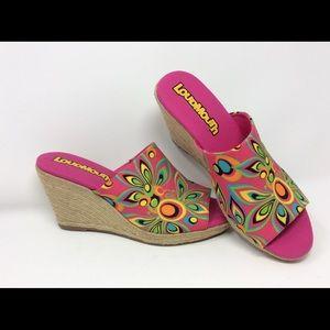 Ladies Loudmouth Wedge Heels